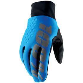 100% Hydromatic Brisker Cold Weather&Waterproof Guantes, azul/negro
